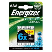 Accu rechargeable Energizer Extreme HR03 AAA- Blister de 4 accus