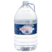 Can of 5 L Cristaline water