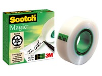 Klebefilm Scotch Magic unsichtbar 19 mm x 33 m