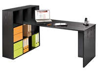 Worktable and biblicase Biblioffice 9 compartments