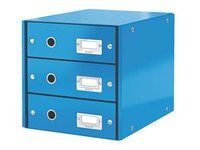 Classification module Leitz Click&Store Wow 3 drawers colour