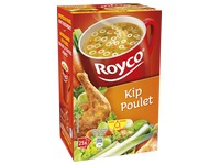 Box of 25 bags Royco Minute Soup chicken