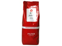 Pack of 1 kg Douwe Egberts ground coffee Gourmet Filter (red)