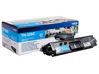 Brother TN329C - cyan - original - cartouche de toner (TN-329C)