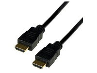 High Speed HDMI Kabel mit Ethernet male/male - 1m