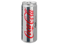 Karton 24 Dosen Coca Cola Light 33 cl