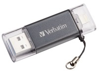Verbatim iStore 'n' Go Dual USB Flash Drive for Lightning Devices - clé USB - 32 Go (49300)